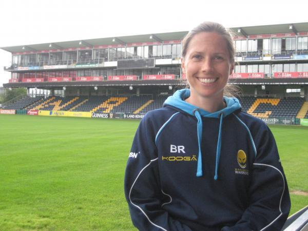 NEW RECRUIT: Brooke Robinson has joined Warriors as osteopath and rehabilitation co-ordinator.