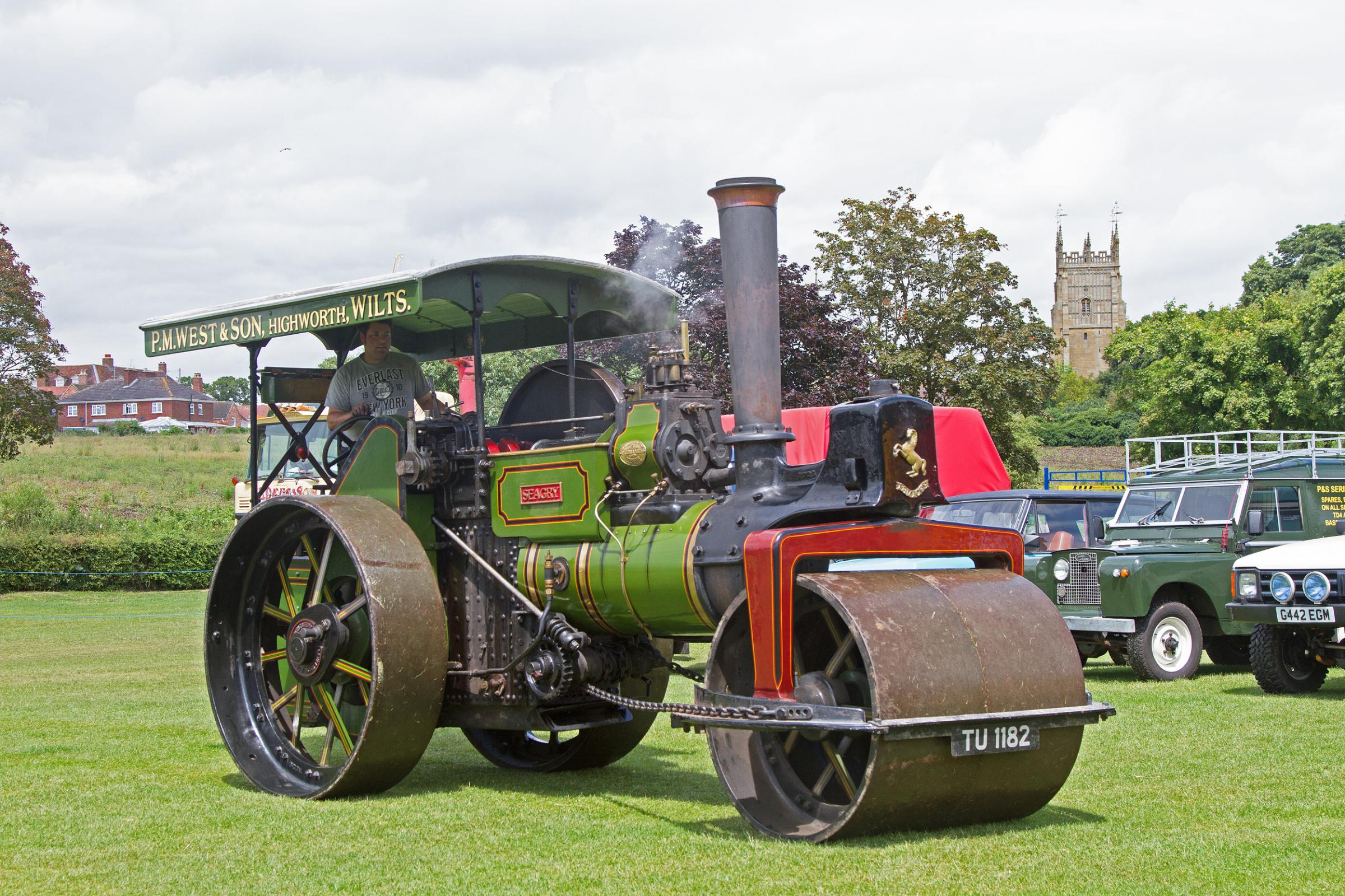 Steam rally rolls into town