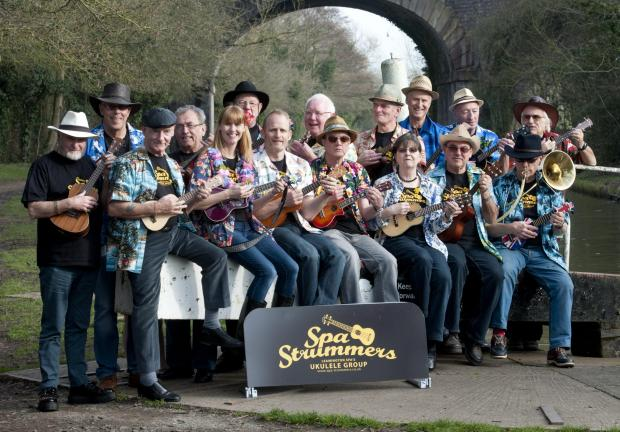 The Spa Strummers who will be at the Badsey Flower Show.