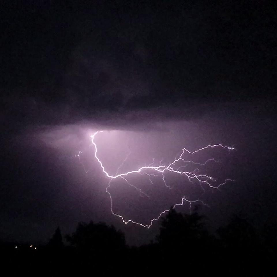 Evesham Journal: Lightning by Bethany Hughes