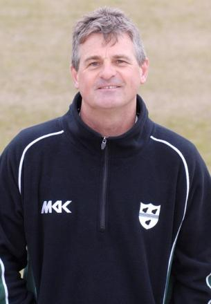 Director of cricket Steve Rhodes.