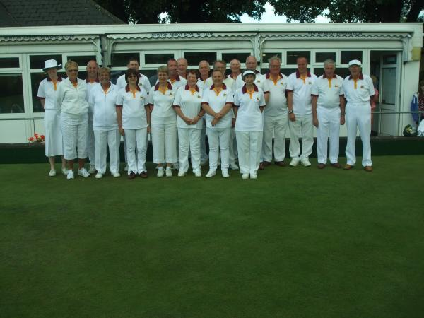 Chipping Campden bowlers.
