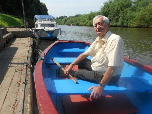 Farewell captain: Shipwright John Morris still feels a deep connection to the river, its wildlife and his traditional way of life.