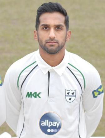 SHAAIQ CHOUDHRY: The spinner managed to get an over in yesterday.