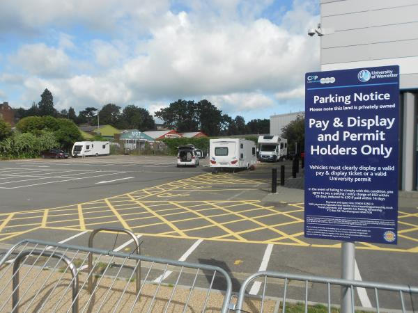 Travellers invade three different sites off Hylton Road, Worcester