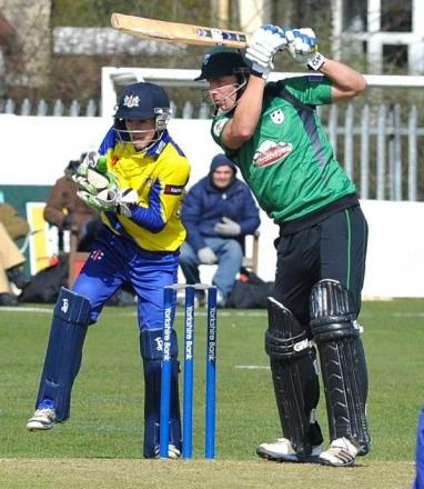 TOM FELL: Top-scored for Worcestershire.