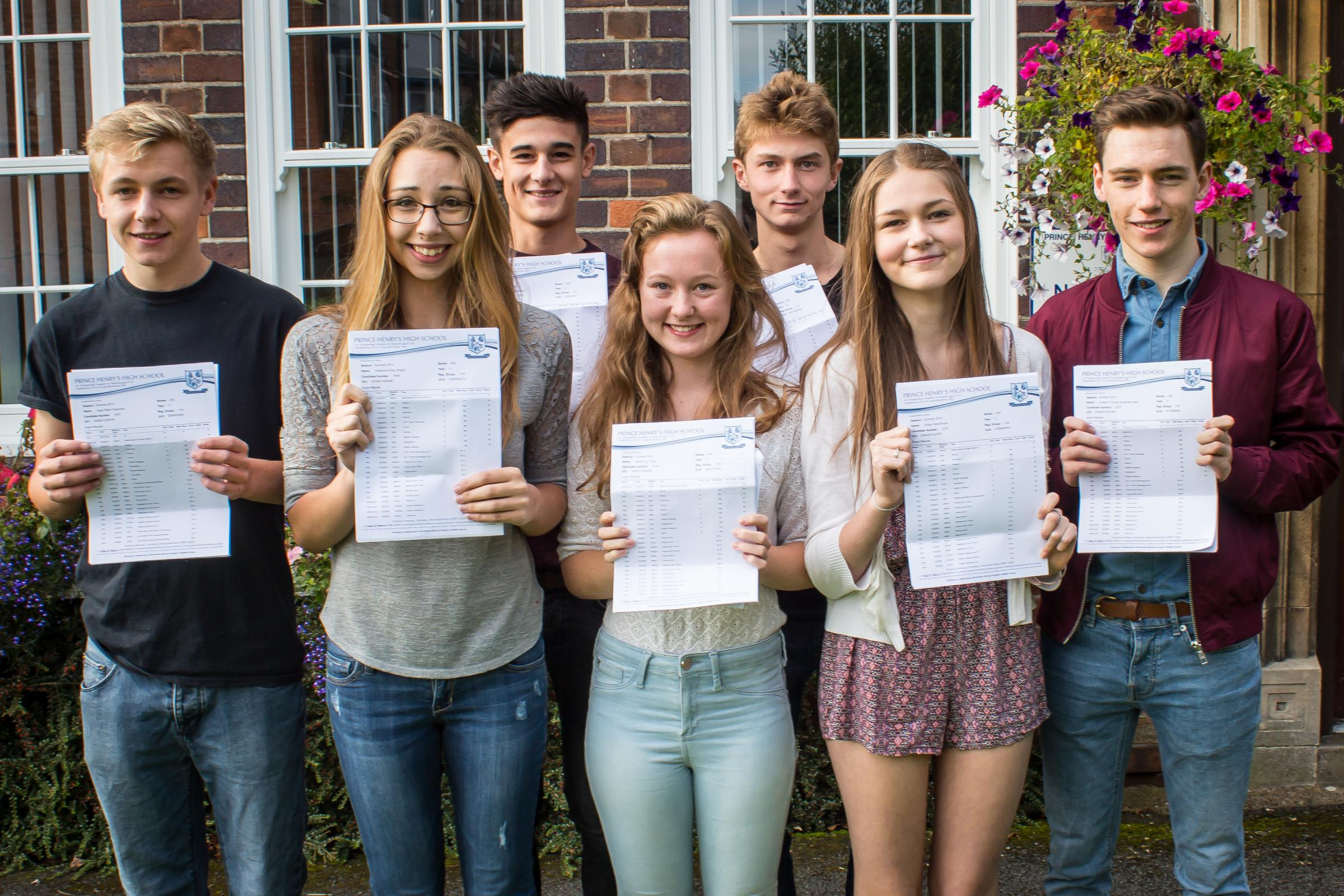 GCSE success for many across the Vale and Cotswolds