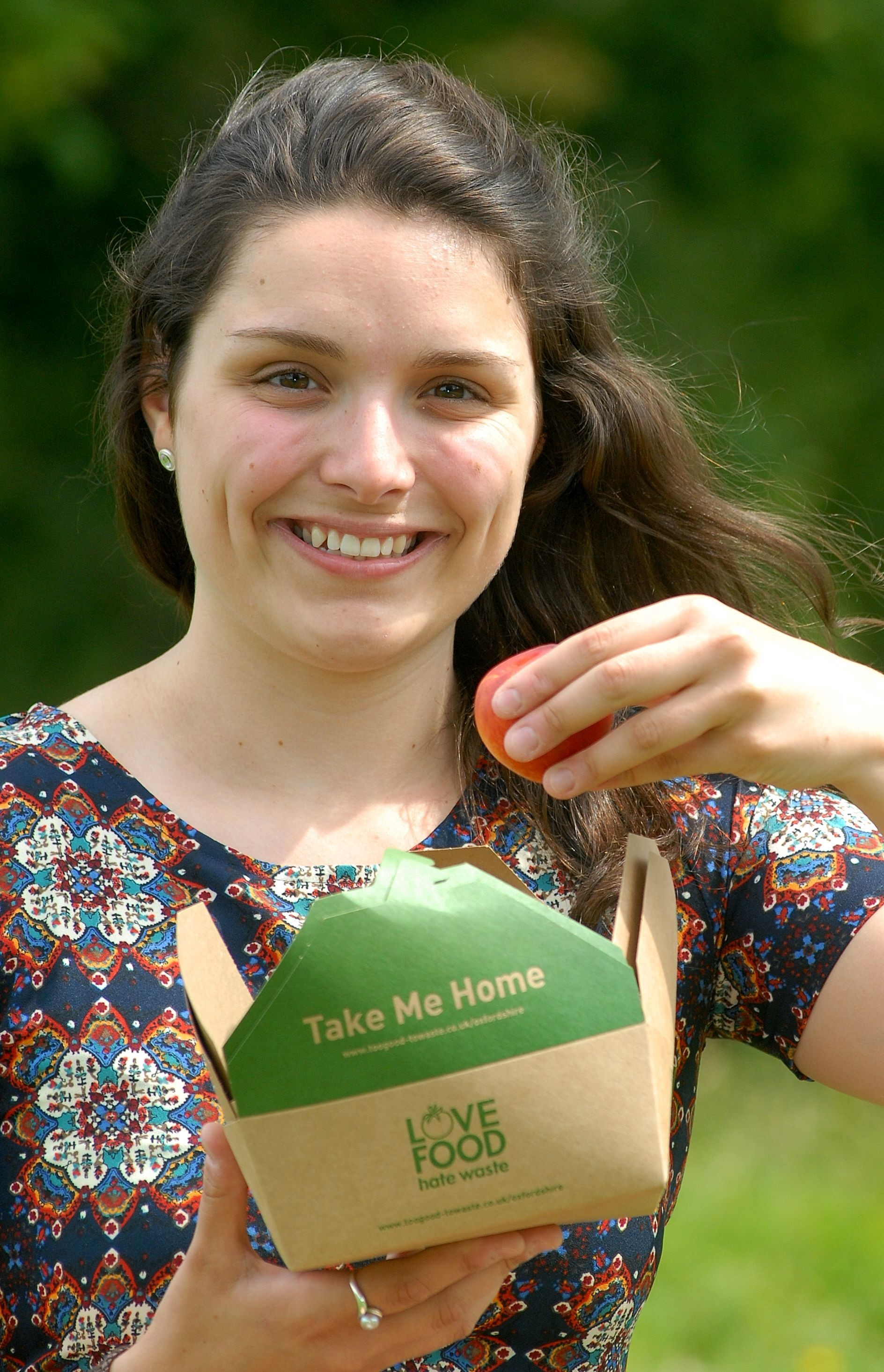 TAKE ME HOME:  Hollie Christian-Brookes with one of  Biopac's take me home boxes. tPicture by Nick Toogood. (8436921)