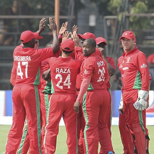 Zimbabwe made history with their victory over Australia (AP)