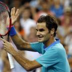 Evesham Journal: Roger Federer bounced back in style after losing the first set (AP)