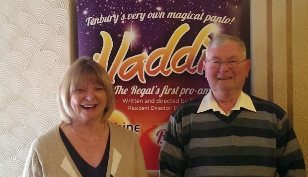 New roles: Peter Drew and Jane Allen is have been appointed chair and deputy chair of Regal Tenbury Trust.