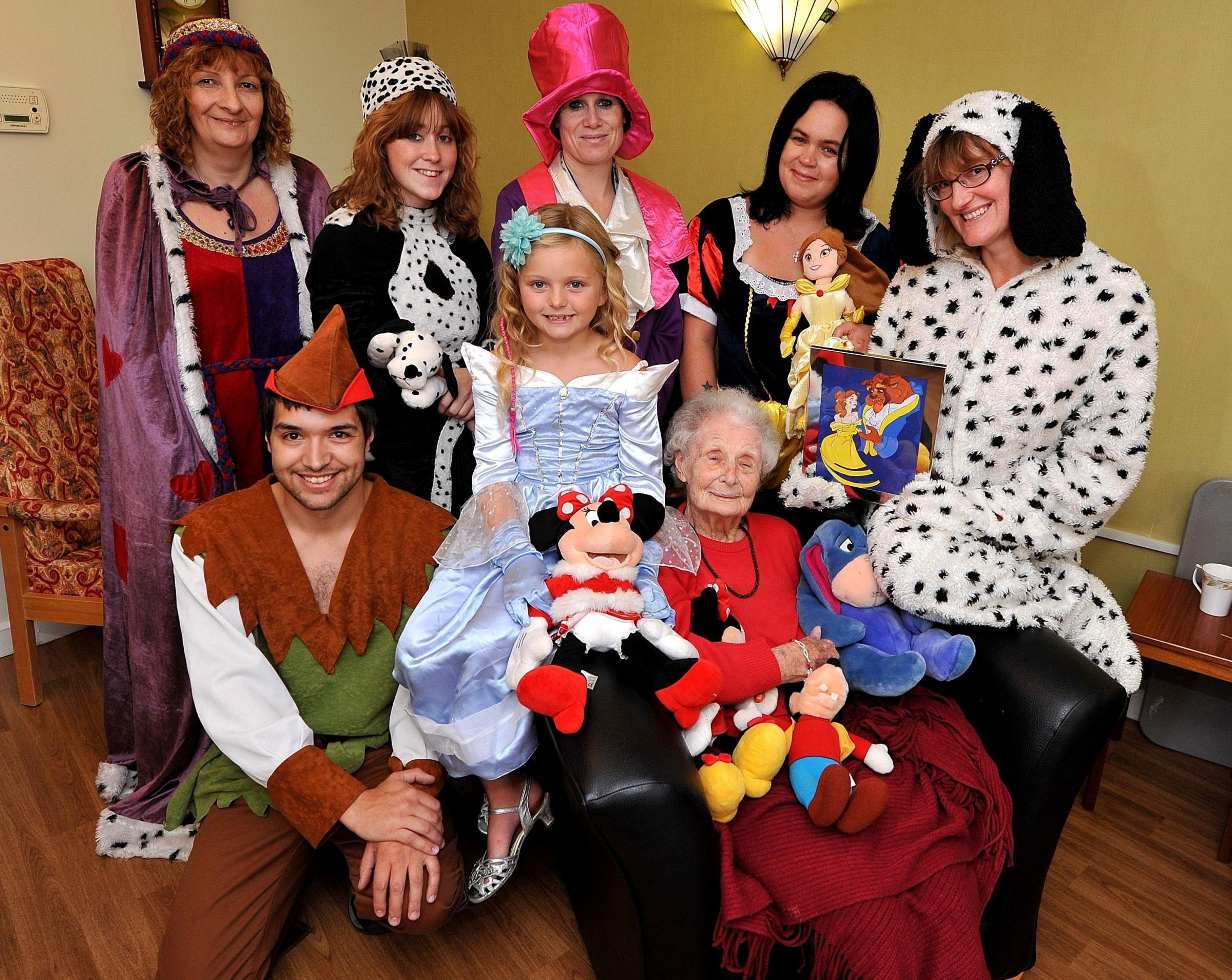 It's Disney time at Malvern care home