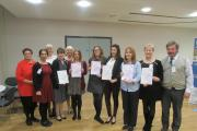 DIDN'T WE DO WELL: Certificates presented at the Worcestershire Works Well event