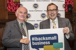 Sir Peter adds weight to small business campaign