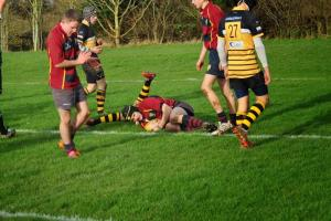 First-half display from Evesham u16s sees off late rally