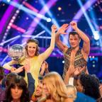 Evesham Journal: Caroline Flack and Pasha Kovalev have been crowned winners of Strictly Come Dancing (BBC/PA)