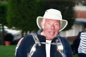 David marks 79th birthday by completing 38-mile charity challenge