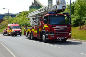 Dishwasher causes house fire