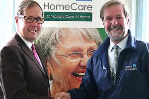 Homecare business expanding and taking on more staff