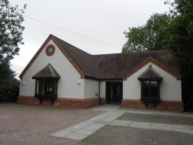 Abbots Morton Village Hall has been spruced up thanks to local authority grants