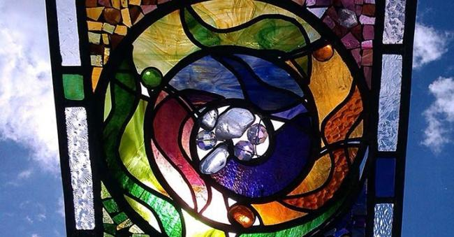 Stained glass by Maureen Sullivan
