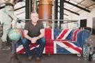 CHEERS: Simon Davies, export director Chase Distillery, pleased with China drinks deal (54994918)