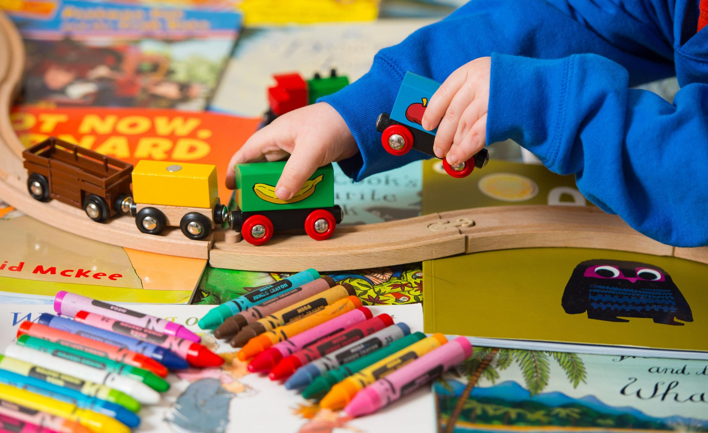 TODDLER: A toddler playing with toys. Worcestershire County Council has done a series of mock inspections to get ready for its next Ofsted visit to rate its child protection services.