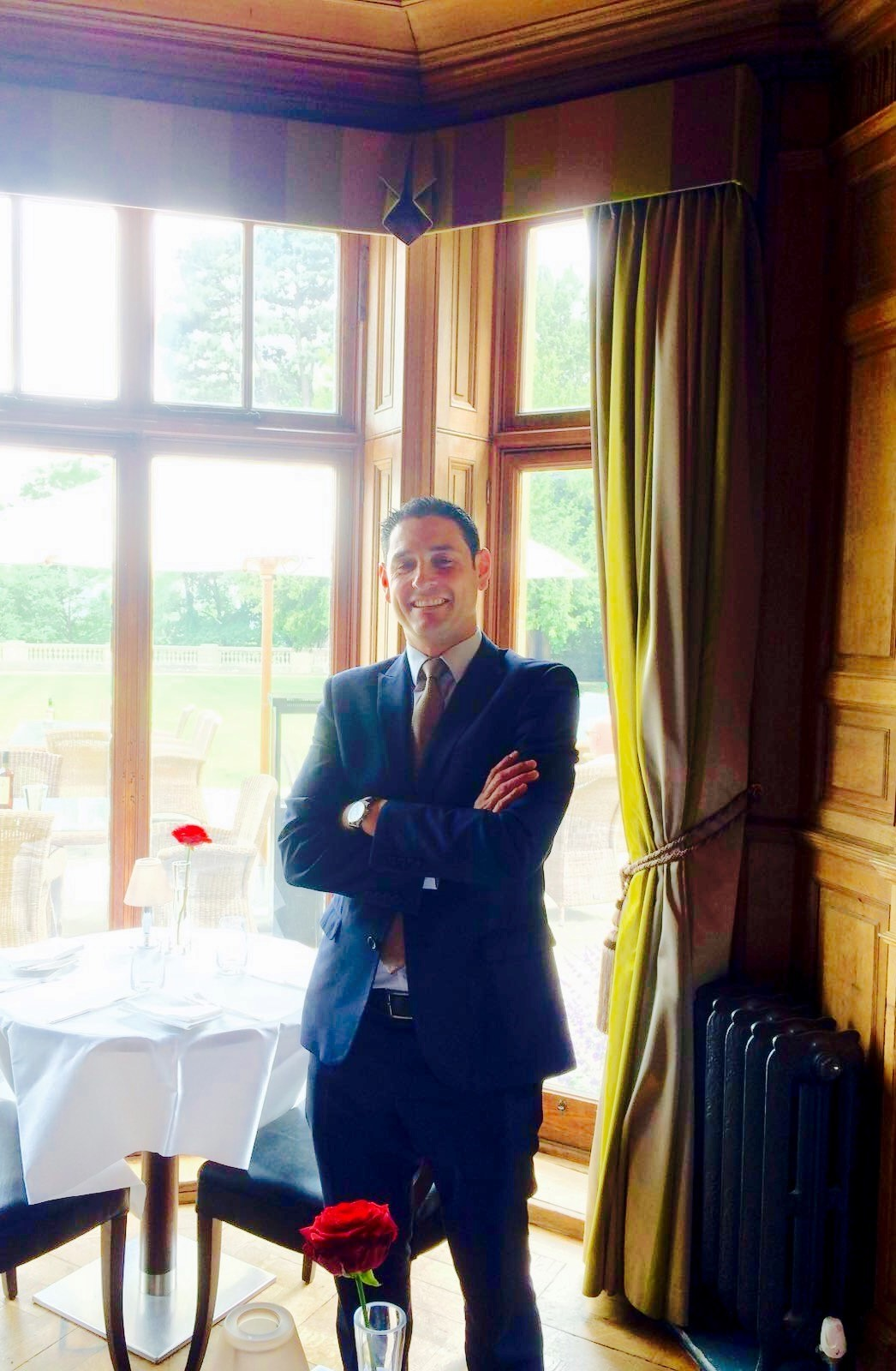 NEW: The Wood Norton's new food and beverage manager Jorge Pereira.