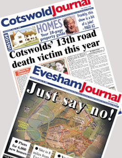 Subscribe To The Evesham & Cotswold Journal