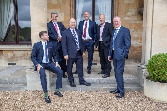 DIRECTORS OF SBK: Oliver Knight, James Walton, Marcus Faulkner, Sam Russell, Mike Cleary and Simon Wilkinson