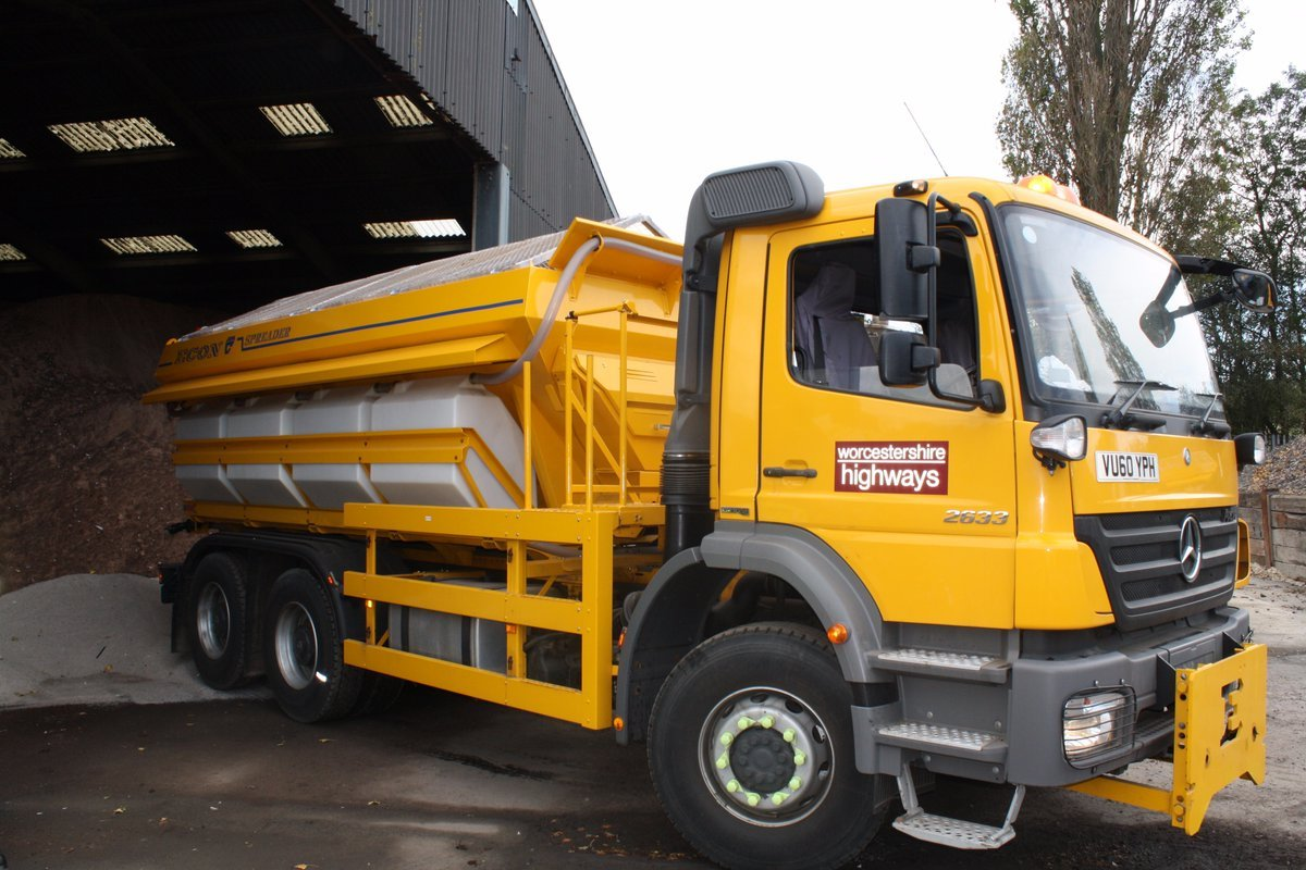 Gritters will go out tonight