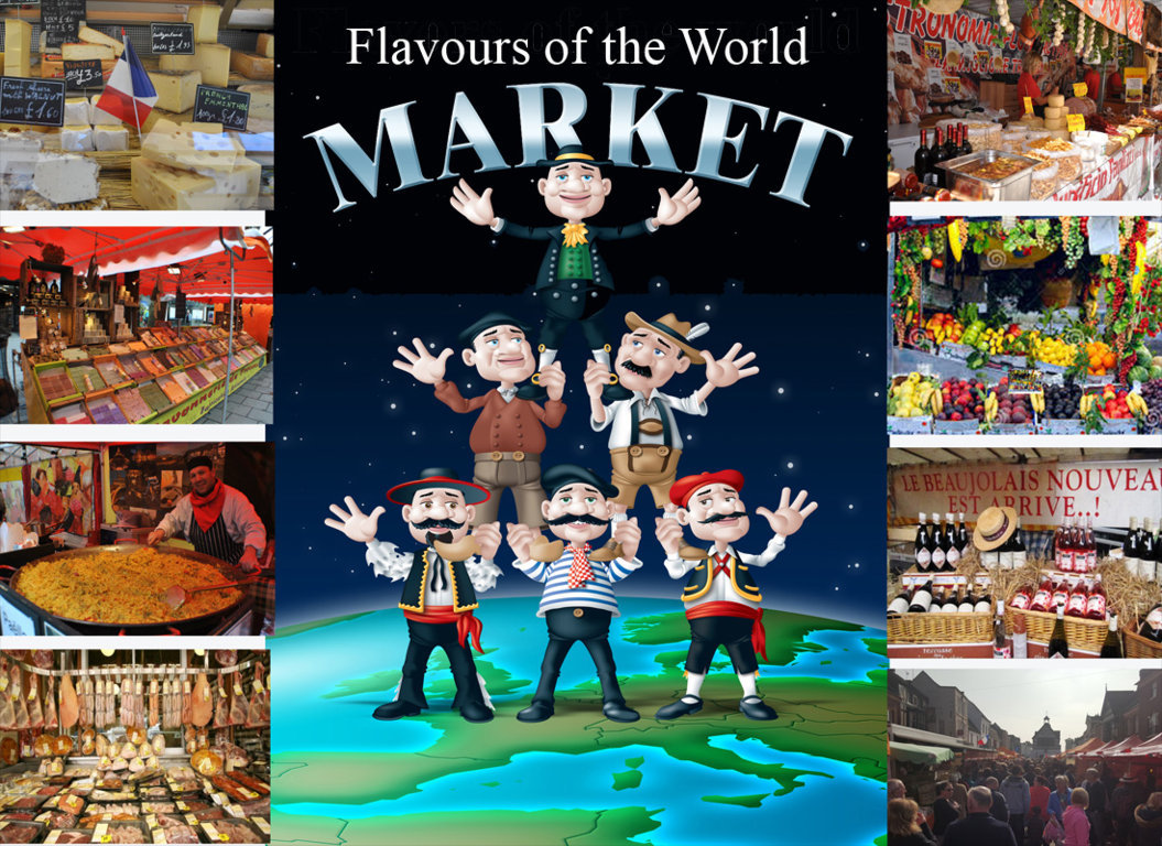 Flavours of the World Market in Hereford