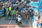 RACE: A picture of the Tour of Britain in Worcester back in 2014 - the race is returning this September.