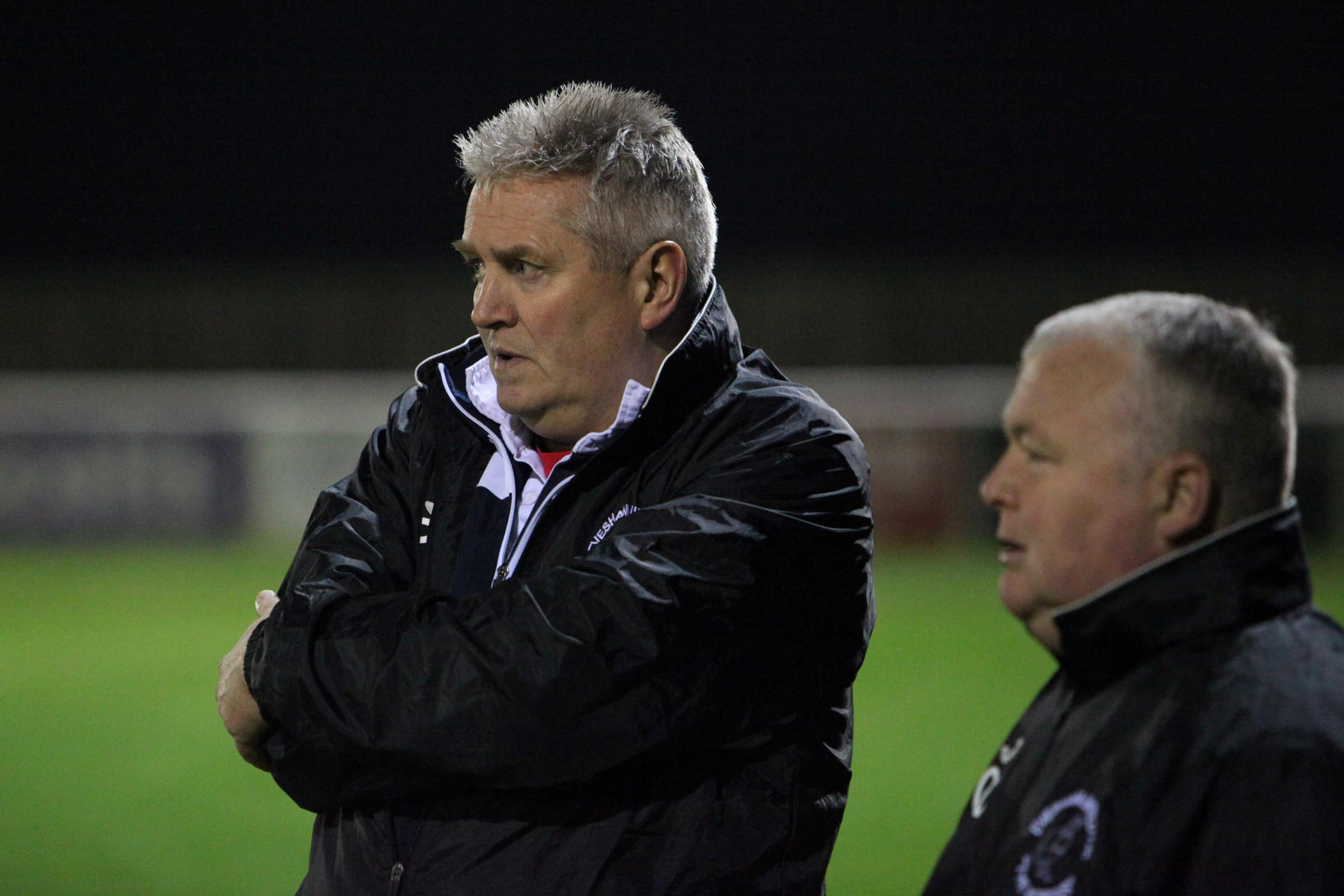 Evesham United manager Paul Collicutt. Picture: www.stuartpurfield.co.uk