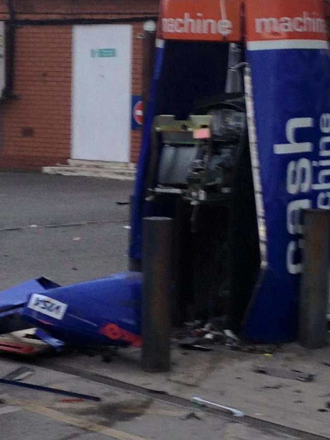 Cash machine thief Brennan Hartrey who blew up ATM in