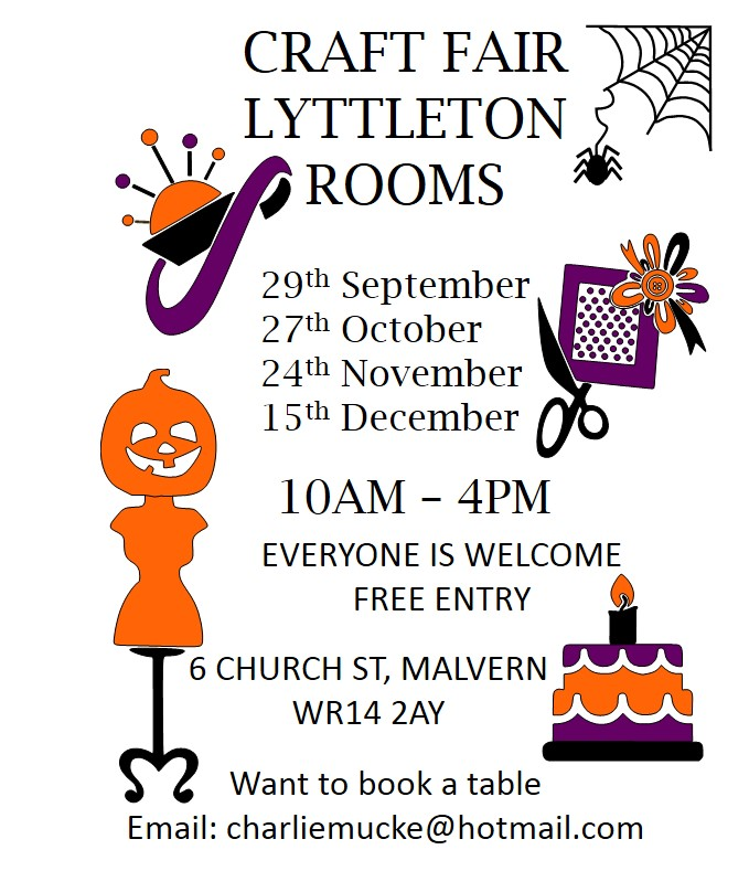 lyttleton room craft fair