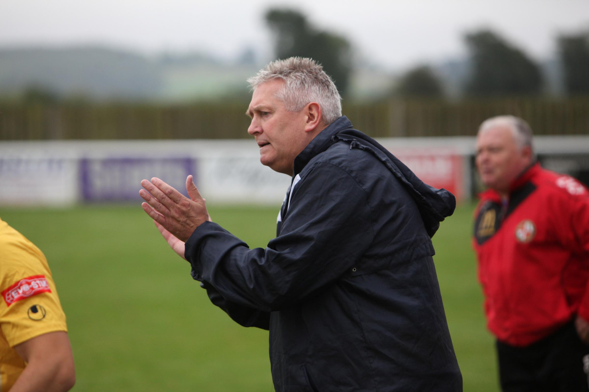 Evesham United manager Paul Collicutt. Picture: www.stuartpurfield.co.uk.