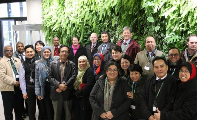 VIP delegation of 20 visitors from Malaysia, including government ministers, CEOs, senior industry & education professionals, and members of the  UK's Department of International Trade (DIT) visited Pershore