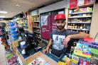 Sajan Verma, Till Operator at the Costcutter Store, Ankerage Green, Worcester.Pic Jonathan Barry 17.4.18.