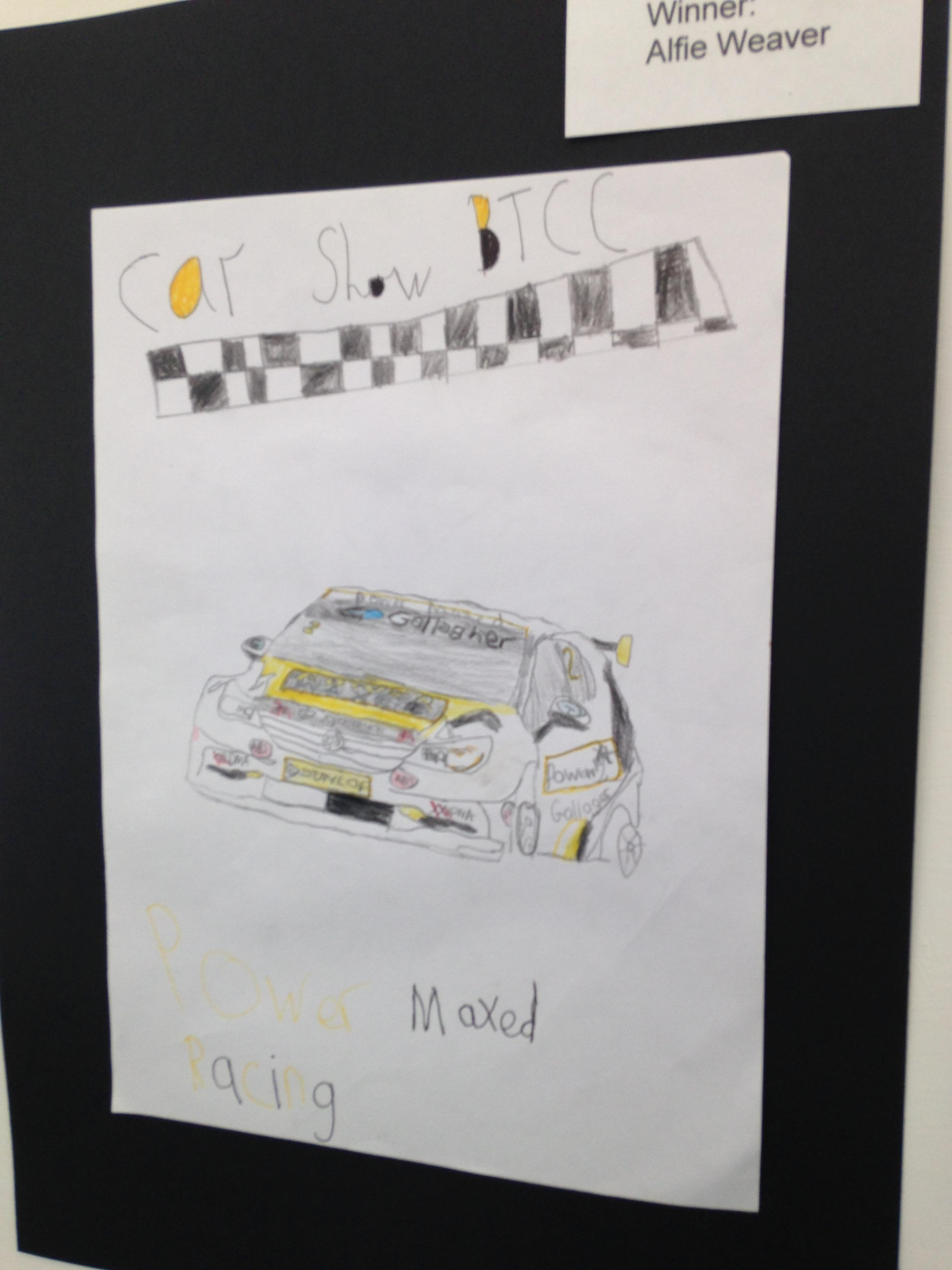 Last year's winning entry by Alfie Weaver
