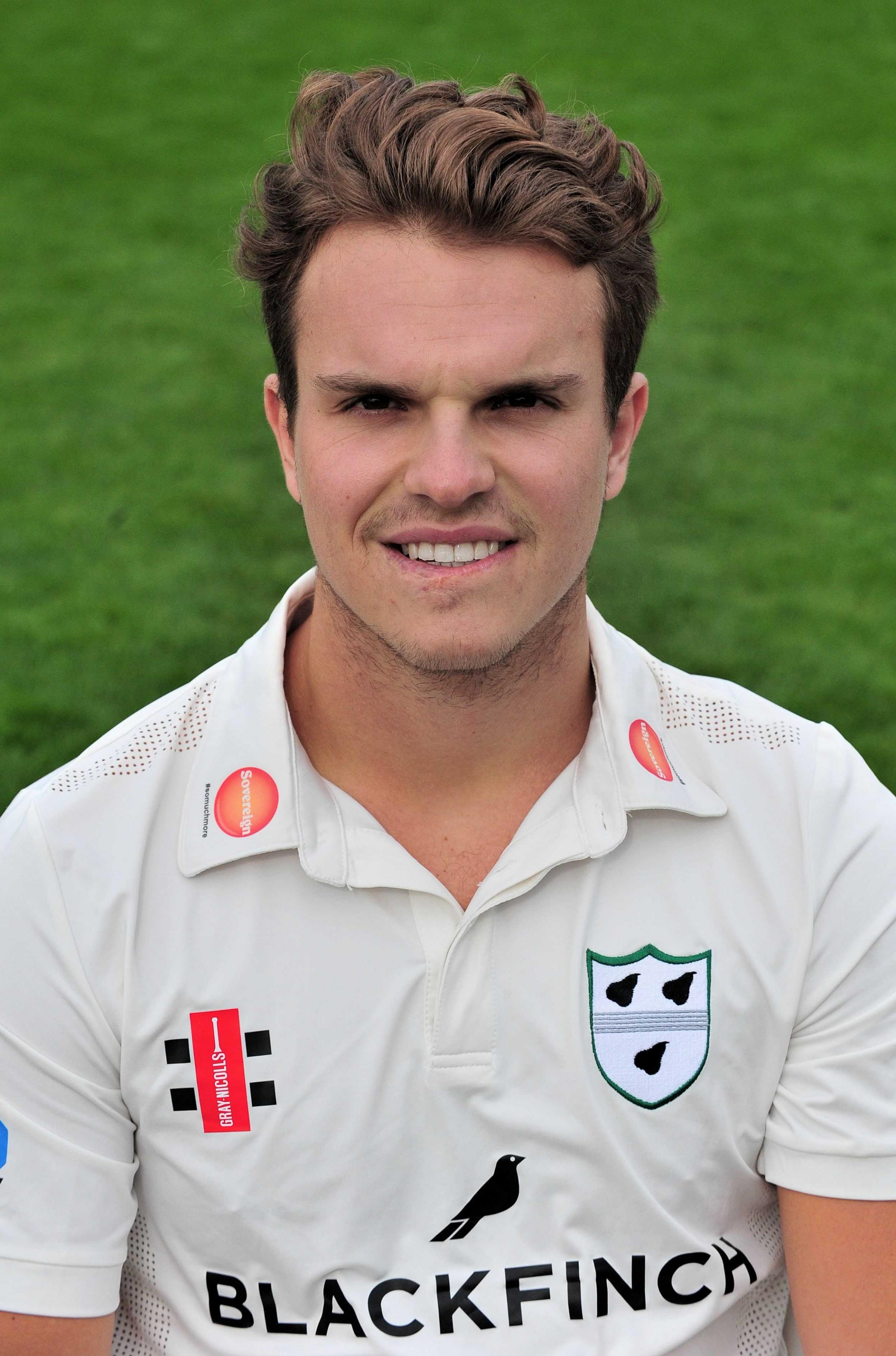 Press Day at Worcestershire County Cricket Club for the 2018 season.......Olly Westbury...Pic Jonathan Barry 6.4.18.