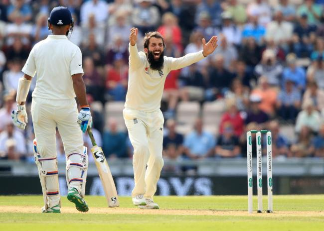 Worcestershire's Moeen Ali. Picture: Adam Davy/PA Wire