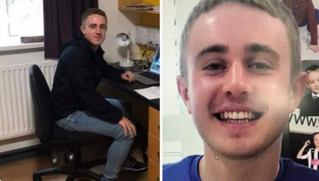 SEARCH: Tom Jones, aged 18 went missing in the early hours of Wednesday, September 19