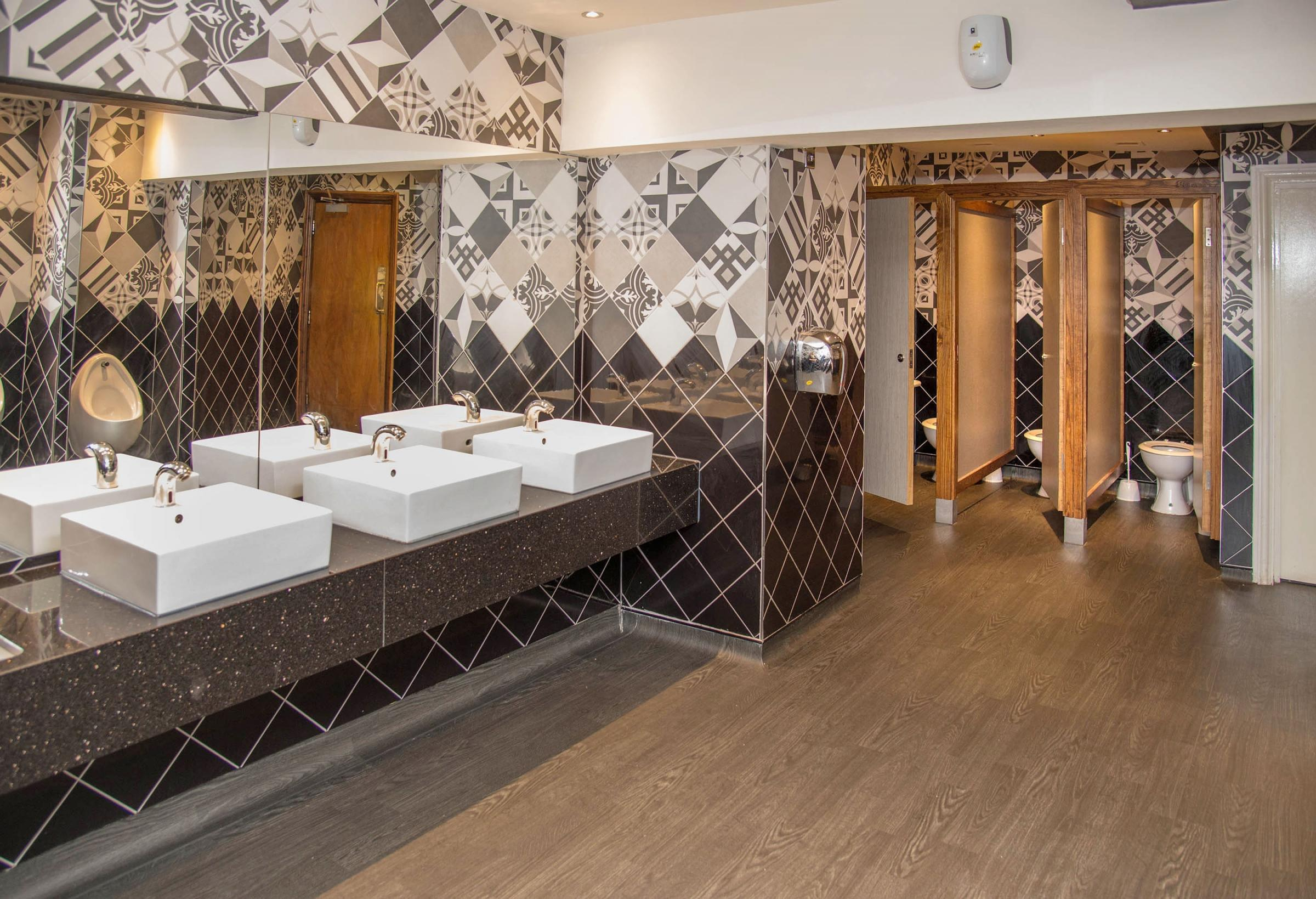 TOILETS: The Old Swanne Inn toilets have won an award