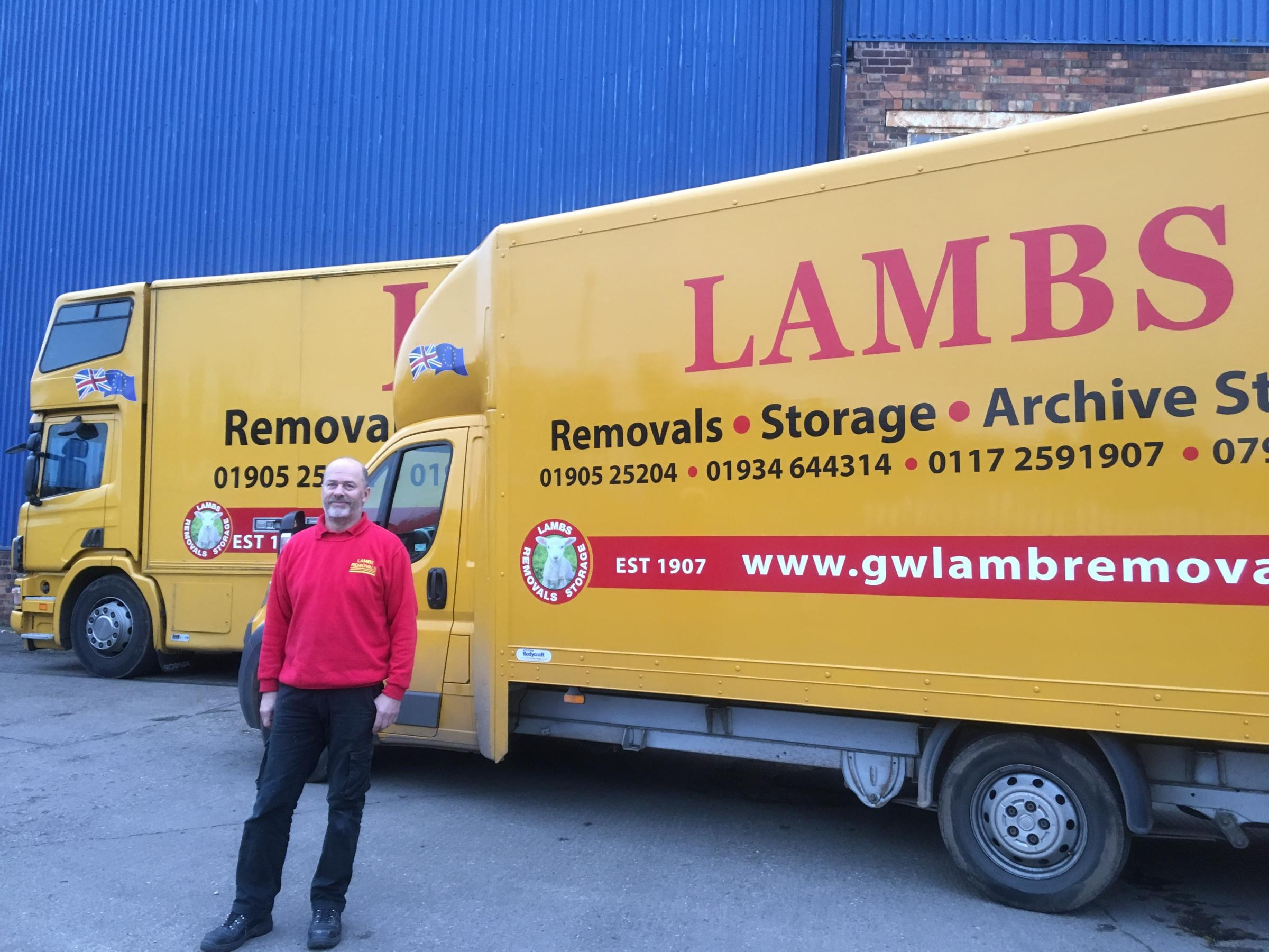 Behind the Business: GW Lamb Removals director Peter Dullehan