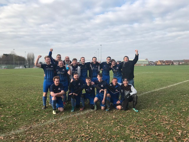 VICTORY AT LAST: Fairfield Titans pictured on Sunday