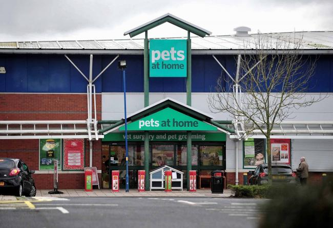 Exterior of Pets At Home on the Blackpole Retail Park, Worcester. 29.11.18.