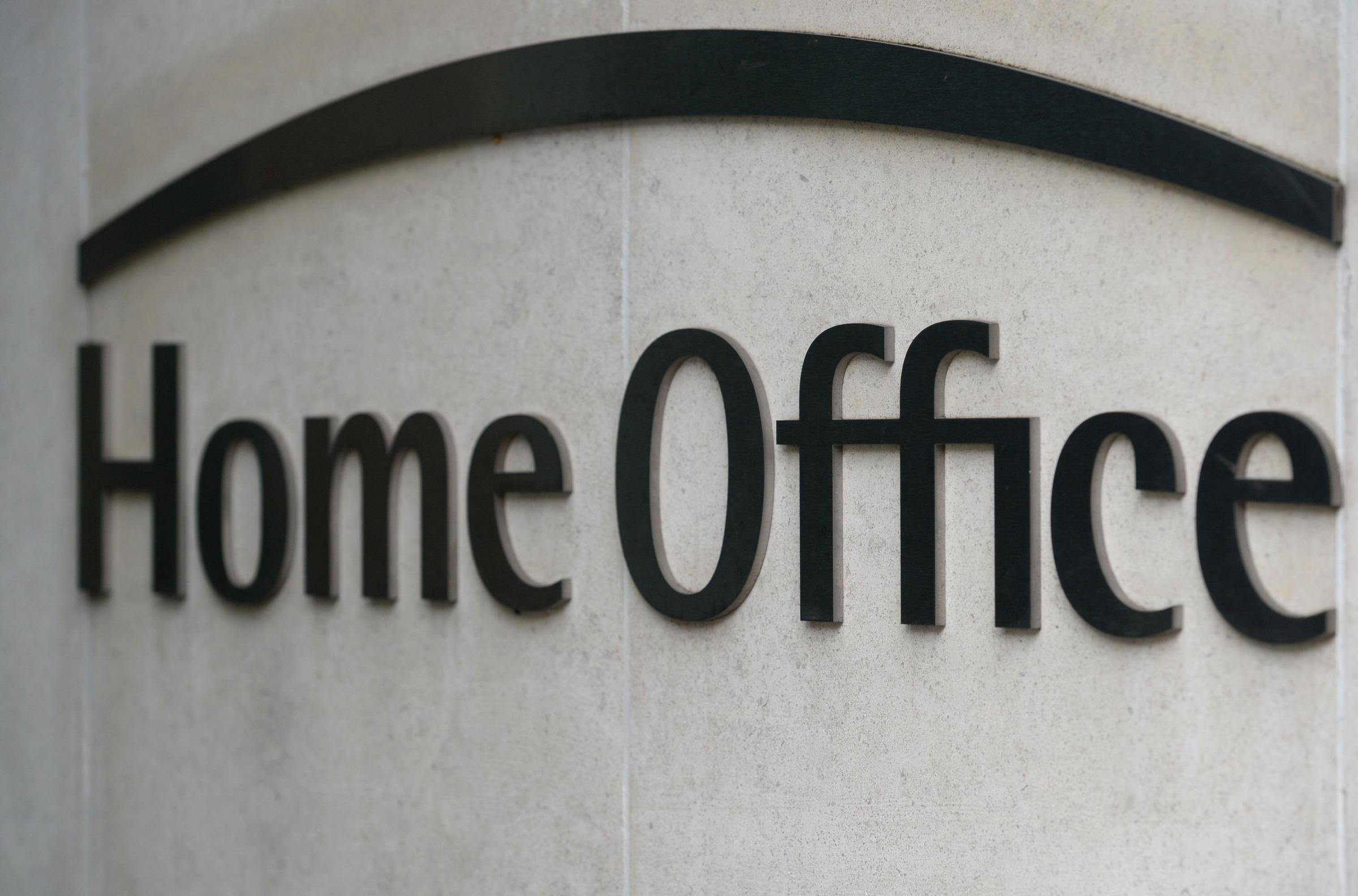 Home Office sign