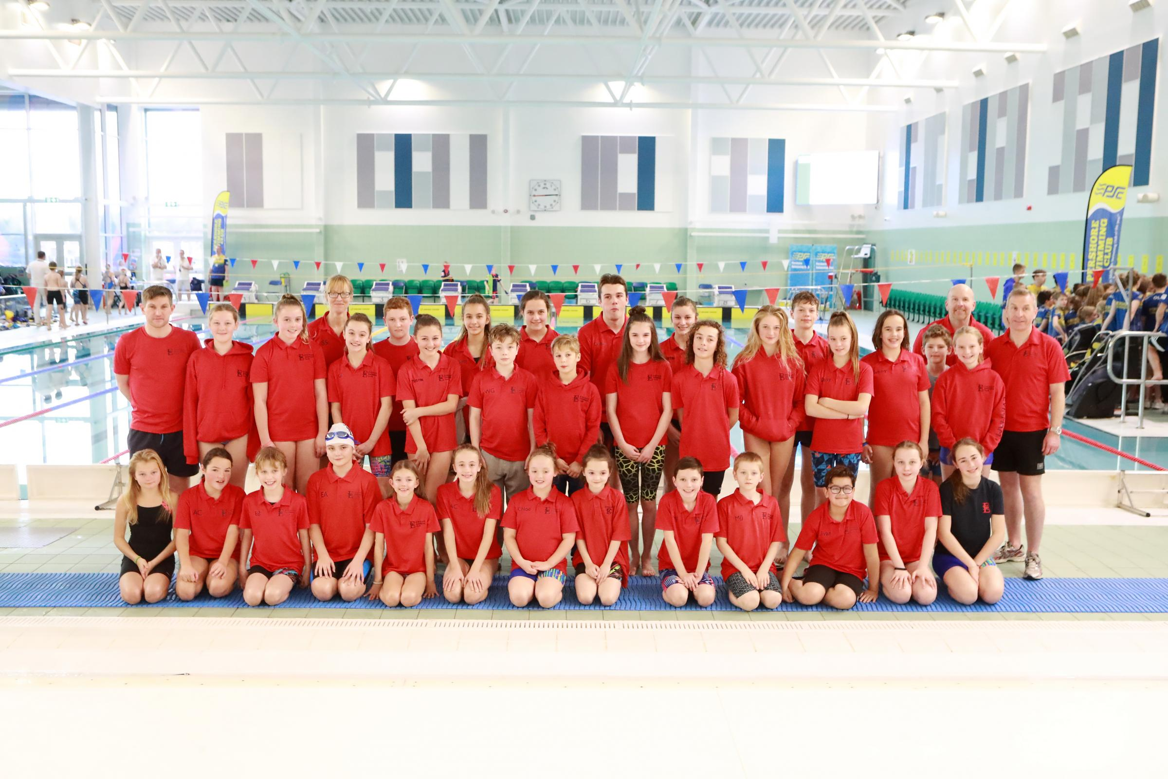 Evesham Swimming Club members. Picture: DE Photo