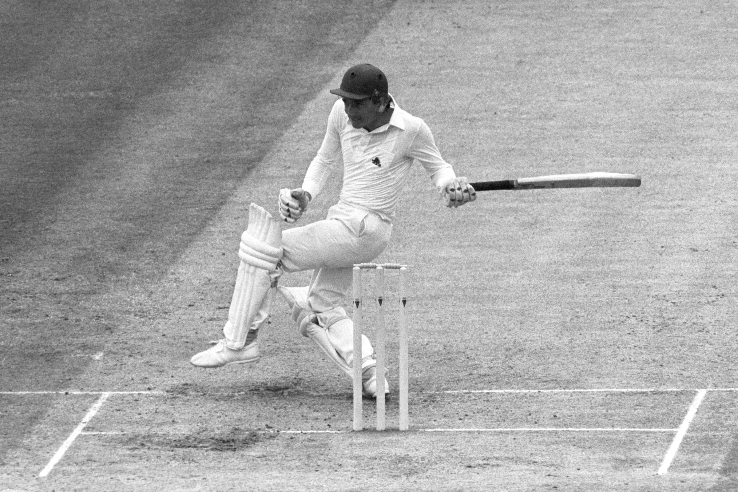 Derek Randall in action for England in 1982. Picture: PA/PA Archive/PA Images